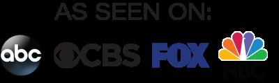 logos of abc cbs fox nbc